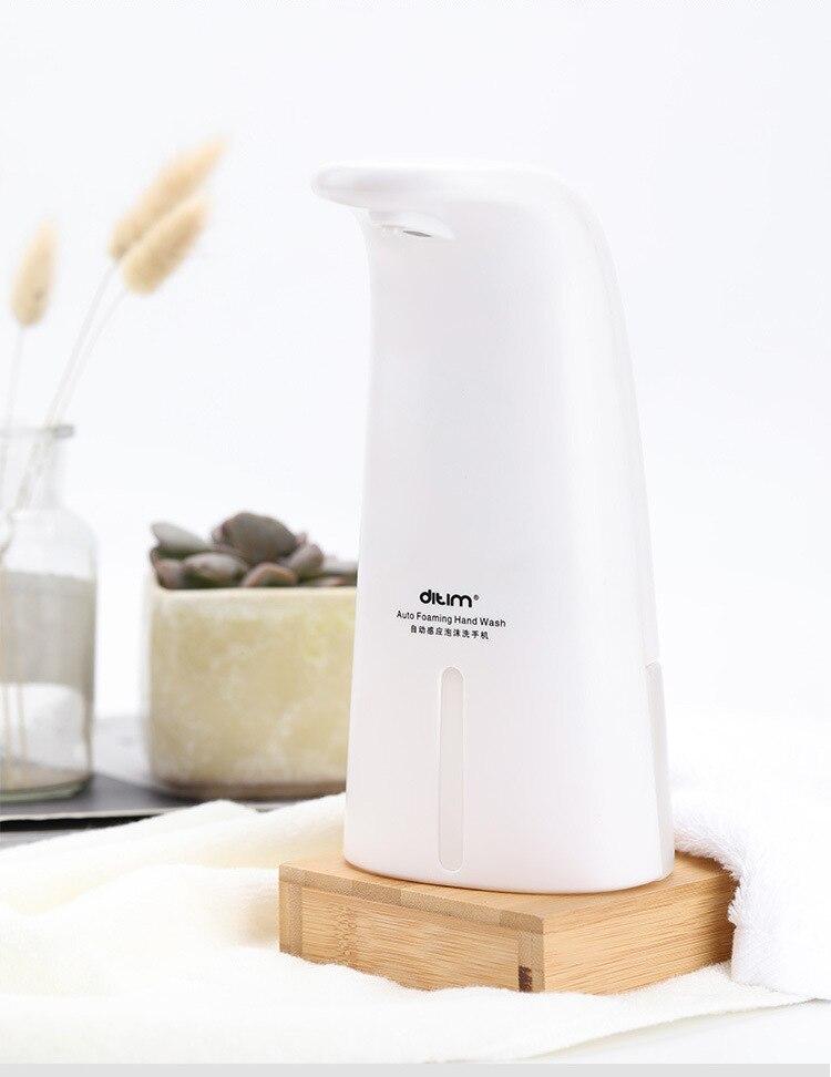H1db3bbb56d8546f9b5abf640fef1afeeY Automatic Foam Soap Dispenser Infrared Sensing Foam Soap Dispenser Induction Liquid Soap Dispenser For Bathroom Kitchen Hotel