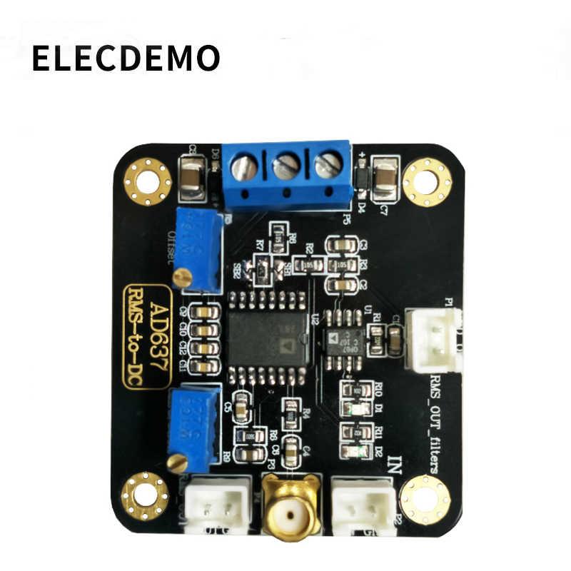 AD637 モジュール RMS 検出モジュールピーク電圧検出モジュールの出力 Dc 電圧ローパスフィルタ機能デモボード