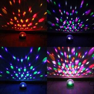 18W 9 Farben LED Bluetooth Disco Ball Licht mit MP3 Player Lautsprecher Home Party DJ Tanzfläche Licht Zeigen bühne Projektor Lampe