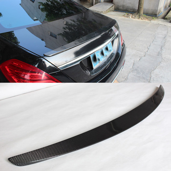 Carbon fiber Trunks Boot Spoiler Fit For Benz S-Class W222
