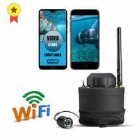 Russische menü! GLÜCK Tragbare WIFI Unterwasser Kamera FF3309 80m wireless-reichweite