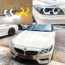 Für BMW Z4 E89 Pre Facelift 2009 2010 2011 2012 2013 Ultra Helle Konzept M4 Ikonischen Stil LED Angel Eyes halo ringe Tag licht