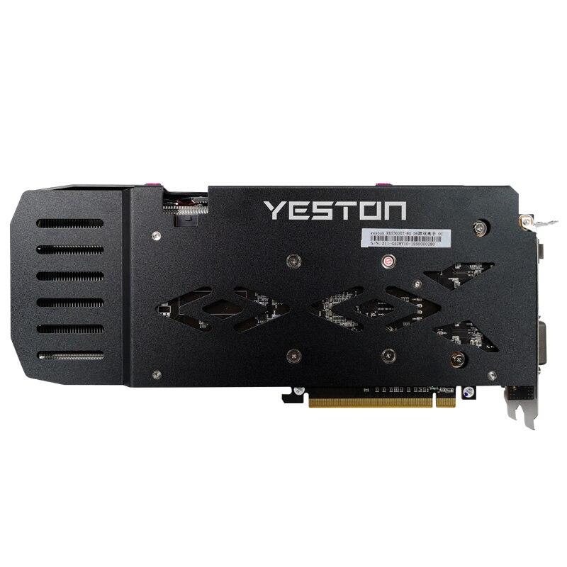 Yeston Radeon RX5500XT GPU 8G/128bit/DDR6/7nm PCI Express x16 3.0 video gaming graphics card HDMI+DP+DVI-D*2 for desktop 2