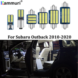 KAMMURI 14X Error Free White LED Car Interior Light Package Kit For 2010- 2017 2018 2019 2020 Subaru Outback LED Interior Lights