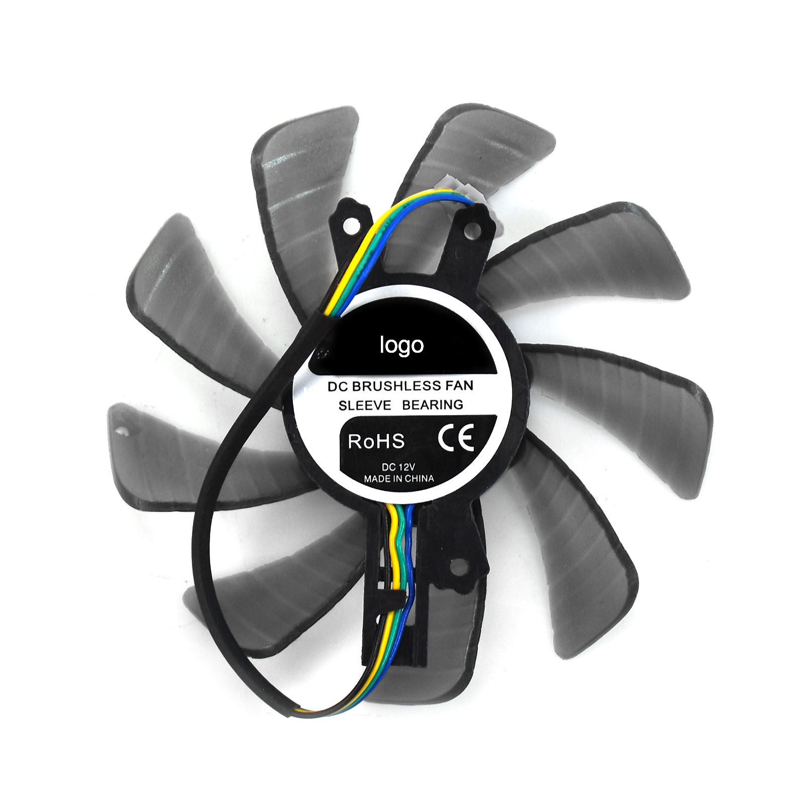 85mm For GALAXY GTX950 560SE <font><b>GTX650Ti</b></font> 660 GTX560TI Video Card Cooling Fan 4pin 15*49*46mm image