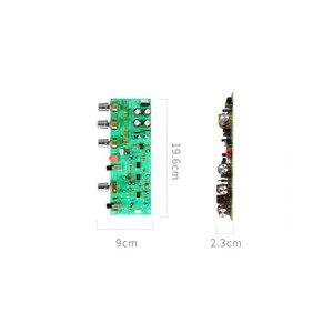 Image 4 - SOTAMIA Amplificador de tono, preamplificador de placa de Control de tonos 4558 Op Amp, ajuste de equilibrio de graves agudos, preamplificador de Control de volumen, reducción de ruido