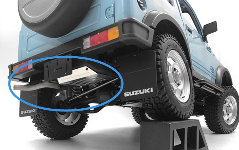 Simulation tank + exhaust pipe for Capo samurai SIXER CD15828 Jimny Samurai 1/6 scale Soldier Carrier rock CRAWLER car-in Parts & Accessories from Toys & Hobbies    1