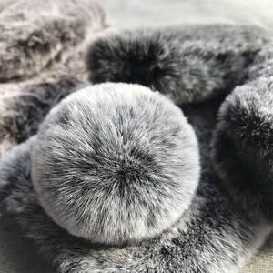 Image 5 - かわいい 3D ウサギの耳の毛皮ぬいぐるみ電話ケース三星銀河 A70 A60 A50 A40 A30 A20 A10 M10 m20 A9 2019 バックケースカバー