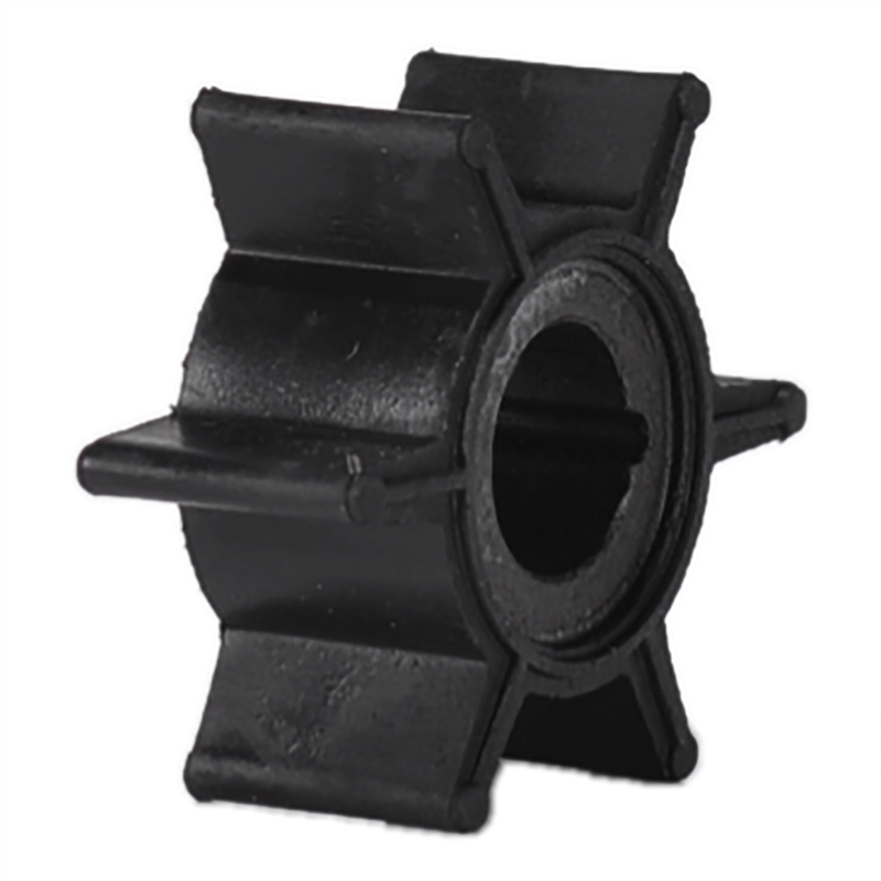 Water Pump Impeller Black Rubber For Tohatsu/Mercury/Sierra 2/2.5/3.5/4/5/6HP Outboard Motor 6 Blades Boat Parts & Accessories