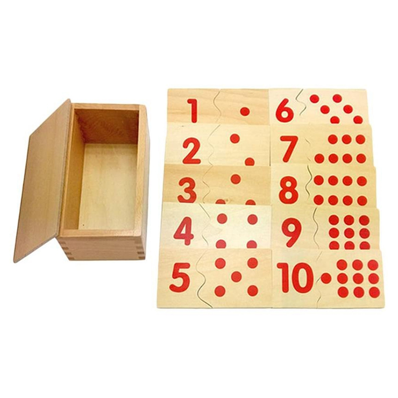 Number Puzzles Educational Toy Knowing The Relationship Between Number And Quantity Improving Eye-Hand Coordination