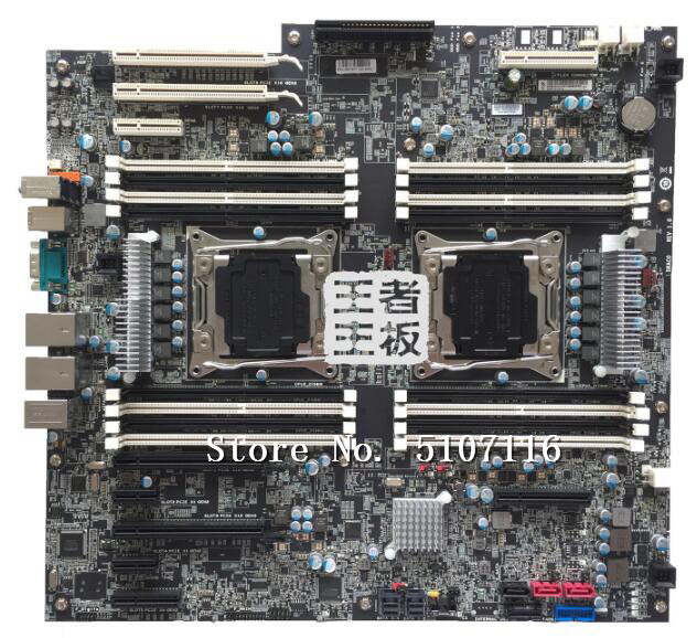 High quality desktop motherboard for P900 <font><b>X99</b></font> 00FC877 P910 Dual Workstation Motherboard will test before shipping image