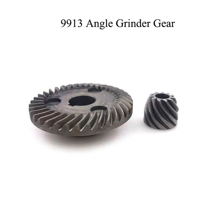 1 Set 36/11 Teeth 9913 Angle Grinder Gear Iron Hand Grinder Gears With Card Slot For Power Gear Tools Accessories Repair Parts