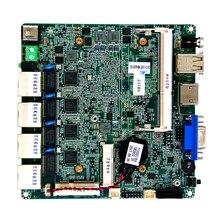 Промышленные материнские платы Baytrail-D/I/M J1900, богатый порт ввода/вывода, 4 порта ethernet, материнская плата s