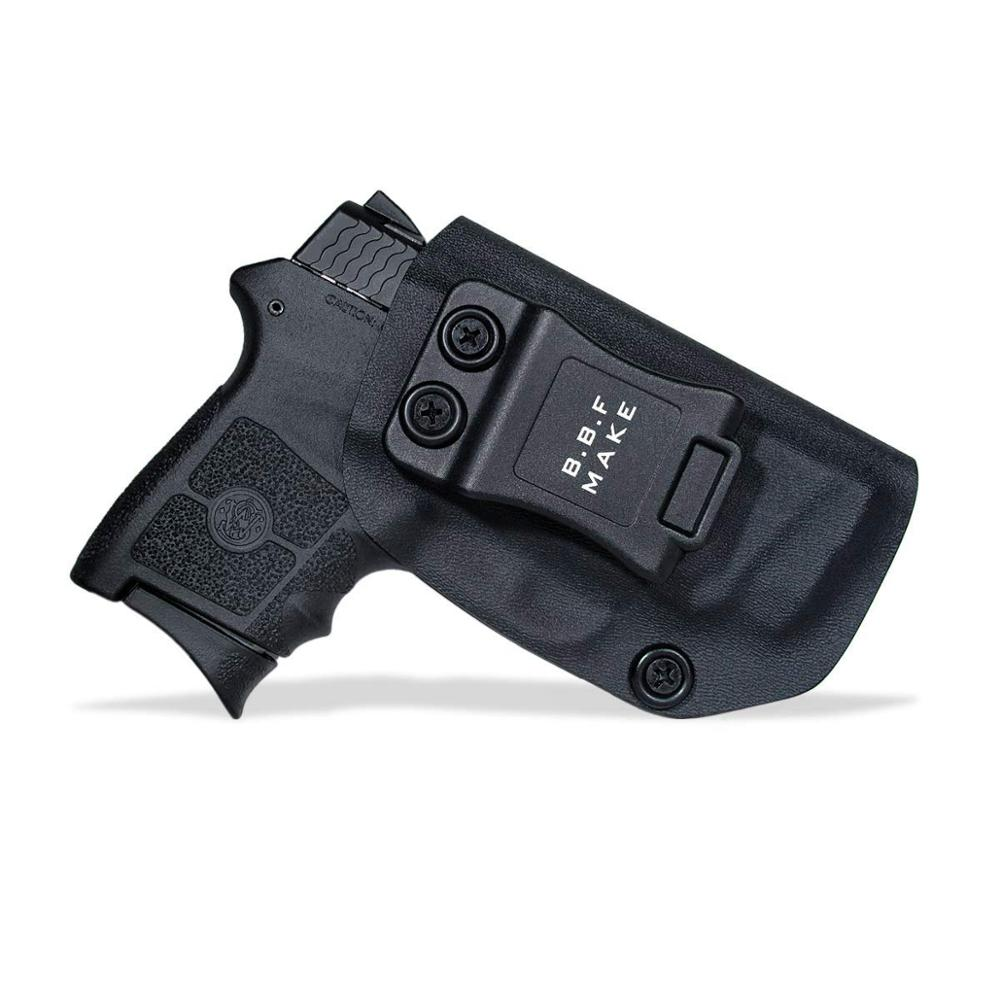 B.B.F Make IWB Tactical KYDEX Gun Holster Fits: S&W M&P Bodyguard 380 Laser BG380 Inside Concealed Carry Waist Pistol Case(China)