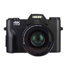 2021 4K HD 16X Digital Camera Micro Single Retro With WiFi Professional Digital Camera Vlog External Lens Handheld Selfie