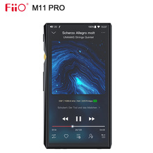 FiiO M11 برو مرحبا الدقة مشغل موسيقى AK4497EQ * 2/THX AAA 78/دعم MQA/atpX HD/LDAC/بلوتوث/DSD256/المد والجزر/سبوتيفي