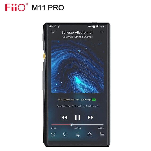 FiiO M11 Pro Hi Res Music Player AK4497EQ * 2/THX AAA 78/สนับสนุน MQA/atpX HD/LDAC/บลูทูธ/DSD256/Tidal/Spotify