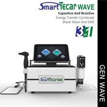 Thérapie physique Portable Tecar, ondes de choc, tasses sous vide EMS, Machine pour le Tennis, le soulagement de la douleur au coude