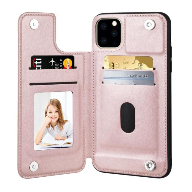 V&K PU Leather Wallet Case for iPhone 11/11 Pro/11 Pro Max 1