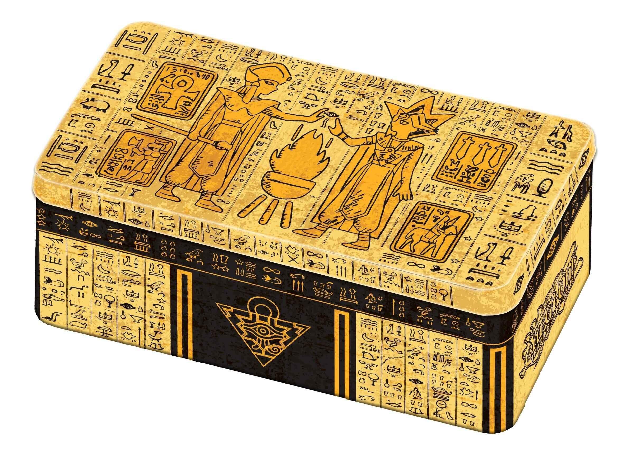 Yu-Gi-Oh MP19 / MP20 Gold Tin Box 2020 Tin And 2019 Tin Genuine English Original Box Spot