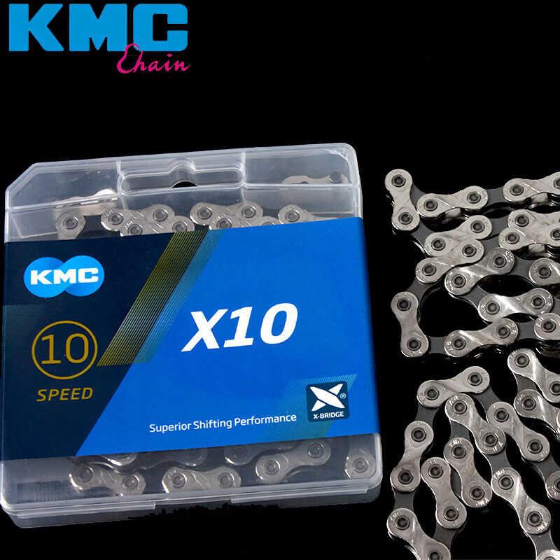 KMC/_ 2019 X10.93 X10 Cadena de Ciclismo 1//2 x 11//128 10 velocidades 116 Enlaces