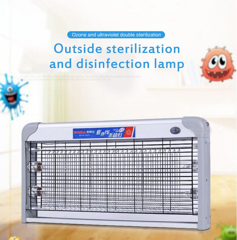 Hot 20W UV Hanging Disinfection Lamp Household Ultraviolet Lamps Tube UVC Germicidal Light Sterilizing For Home Restaurant Hotel