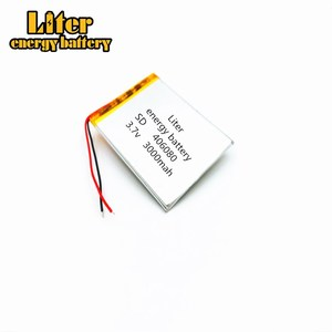 406080 3.7V 3000MAH Lithium polymer Battery with Protection Board For VX787 VX530 VX540T VX585 396079 MP4 MP5 DVR GPS 405980