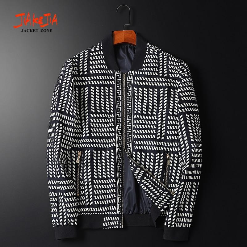 2020 new spring/ autumn men jacket Classic avatar printing man jacket zipper jacket man coat