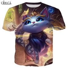 CLOOCL popüler oyun T Shirt erkek/kadın 3D baskılı T Shirt rahat tarzı Hero cilt T shirt Streetwear kazak T321