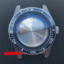 Watch-Case Ceramic Bezel Automatic Movement Sapphire 62MAS NH35A/NH36A Solid Crystal