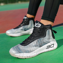 2020 Outdoor Sports Basketball Shoes Men Women Breathable Hi
