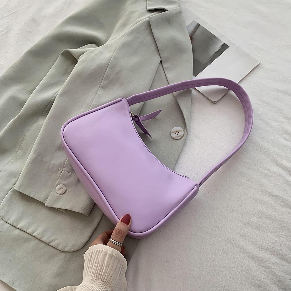 Retro Shoulder Bag Vintage Handbag Hobos Bag for Women PU Leather Female Baguette Bag Subaxillary Mini Bolsa Bolsa Feminina2020 1