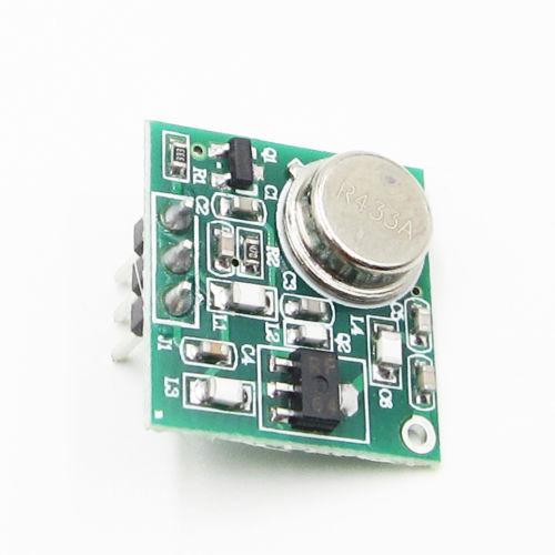 Практичный Модуль платы беспроводного FM передатчика постоянного тока 9 12 В, стандартный 433,92 МГц # P 433 МГц, беспроводной модуль FM передатчика