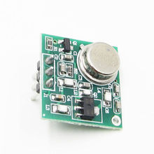 Pratico DC 9 V 12 V Wireless FM Trasmettitore Consiglio Modulo ZF 4 433.92MHz # P 433MHZ Senza Fili modulo trasmettitore FM