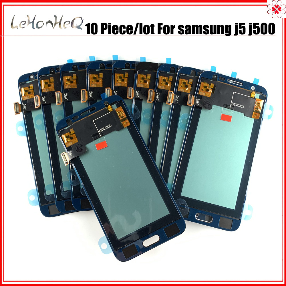 10 Piece/lot Incell LCD for samsung galaxy <font><b>J5</b></font> 2015 <font><b>J500</b></font> J500F J500G LCD Display touch screen digitizer assembly For Samsung <font><b>J500</b></font> image