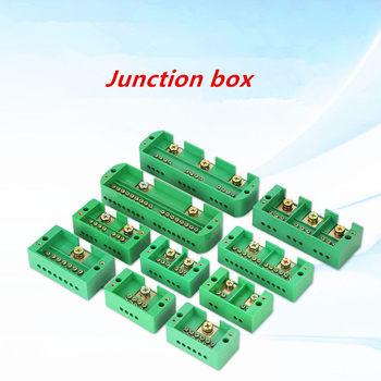 Caja de conexiones de alta potencia, bornera de conexión rápida, conector doméstico monofásico, caja de bloques de terminales de derivación cero 1