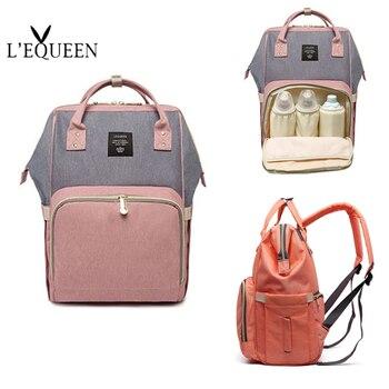 Duża pojemność dziecko torba mumia plecak podróżny moda marka projektant torba na pieluchy dla dziecka mama plecak matka Carry Care Bags