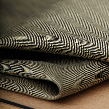 114CM Wide 36MM Jacquard Gray Brown Silk Fabric for Spring Autumn Suit Dress Jacket C039