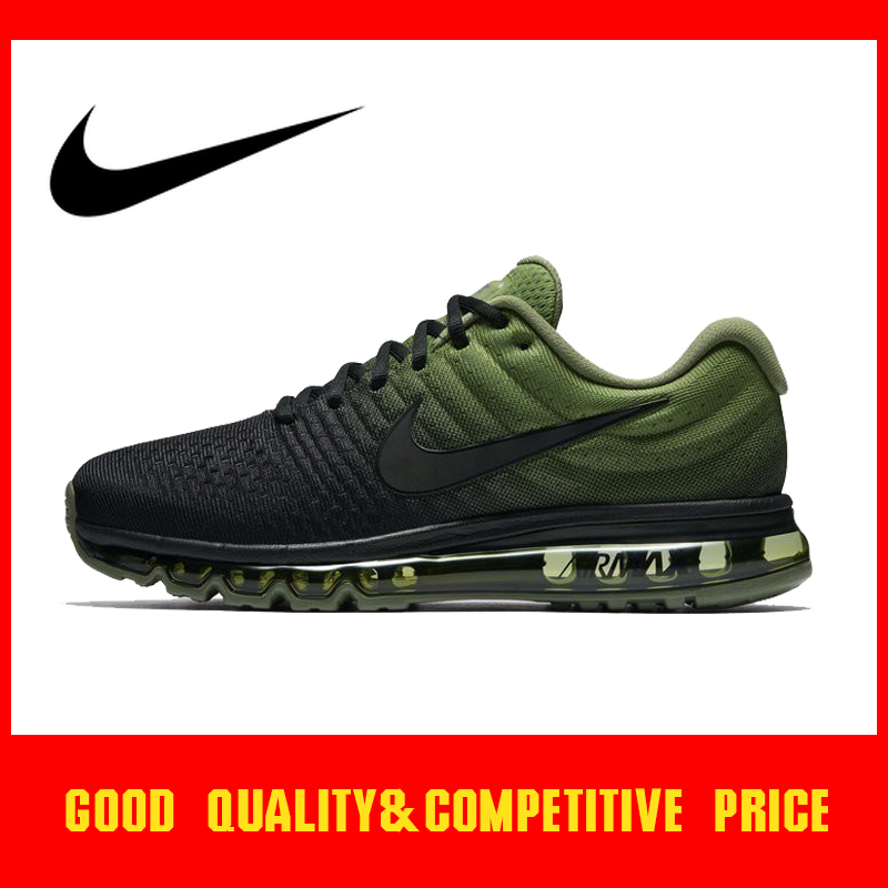 Original authentic Nike Air Max 2017 men's running shoes fashion outdoor sports shoes comfortable breathable designer 849559 image