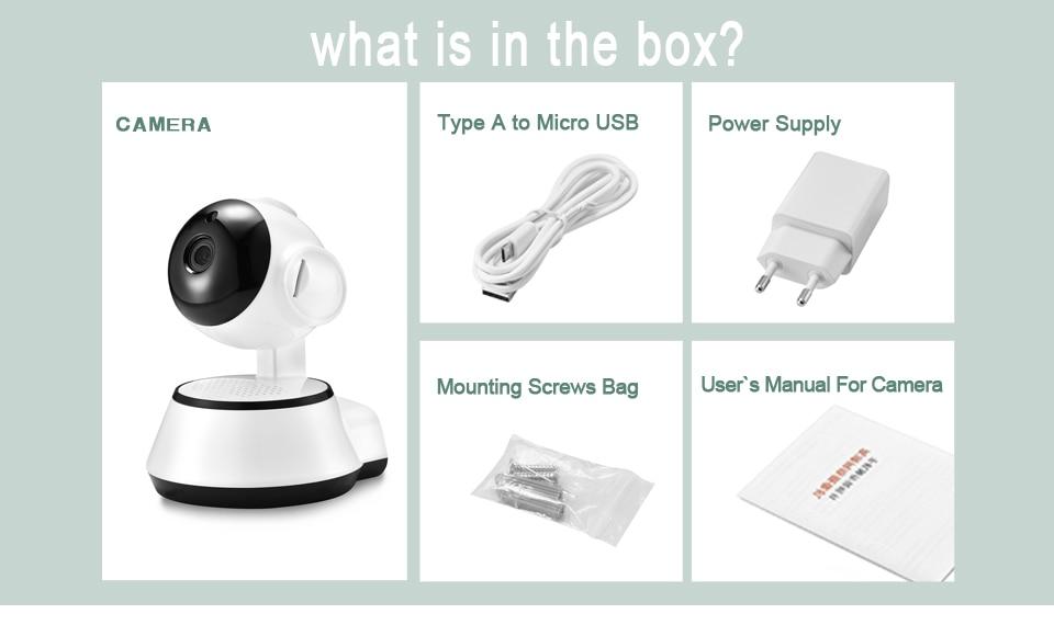 H1db70117253a44fcb06bcdc36603a478D BESDER Home Security IP Camera Wireless Smart WiFi Camera WI-FI Audio Record Surveillance Baby Monitor HD Mini CCTV Camera iCSee