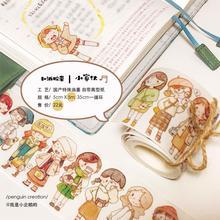 10 pcs/1llot 17 cartoon girl washi tape flower Decoration Sticker stickers scrapbooking stationery masking