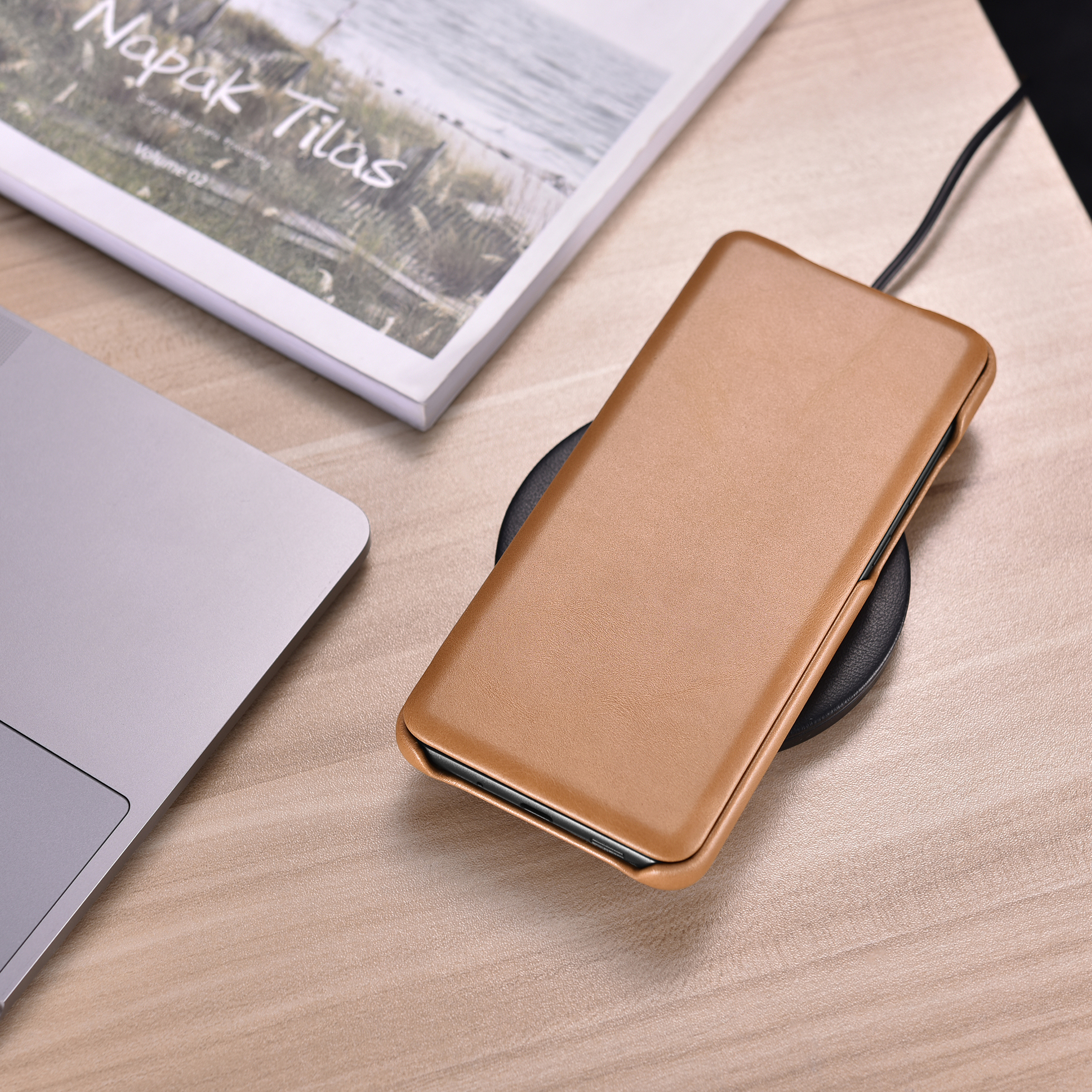 ICARER Luxury Flip Cover Case for Samsung Galaxy S20 S20Ultra S20 Plus Retro Handmade Genuine Leather Phone Case Protection
