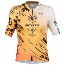 2021 Buff Велоспорт Джерси мужские велосипедные костюмы летние рубашки с коротким рукавом нагрудники шорты Майо велосипедная Одежда Mtb Топы