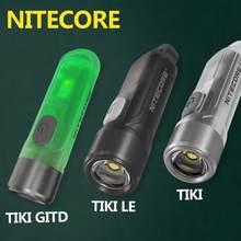 100% original nitecore tiki tiki gtid tiki le 300 lumens mini futurista multi-função chaveiro luz usb de carregamento