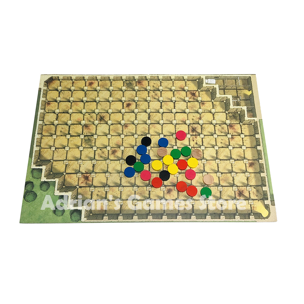 Image 4 - Fearsome Floors Frightful Board Game Finstere Flure Easy To Play 2 7 Players Party GameBoard Games   -