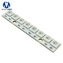 Panel-Module Breadboard Arduino LED WS2812 AVR 5V RGB for Solder-Pads 2811 5050 Led-Lamp