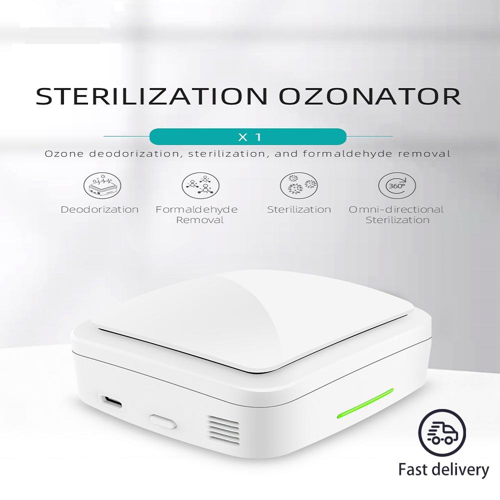 Portable Ozone Machine For Room Car Deodorizing Air Purifier Mini Ozone Generator Ozone Air Purifier Deodorizing Sterilizer