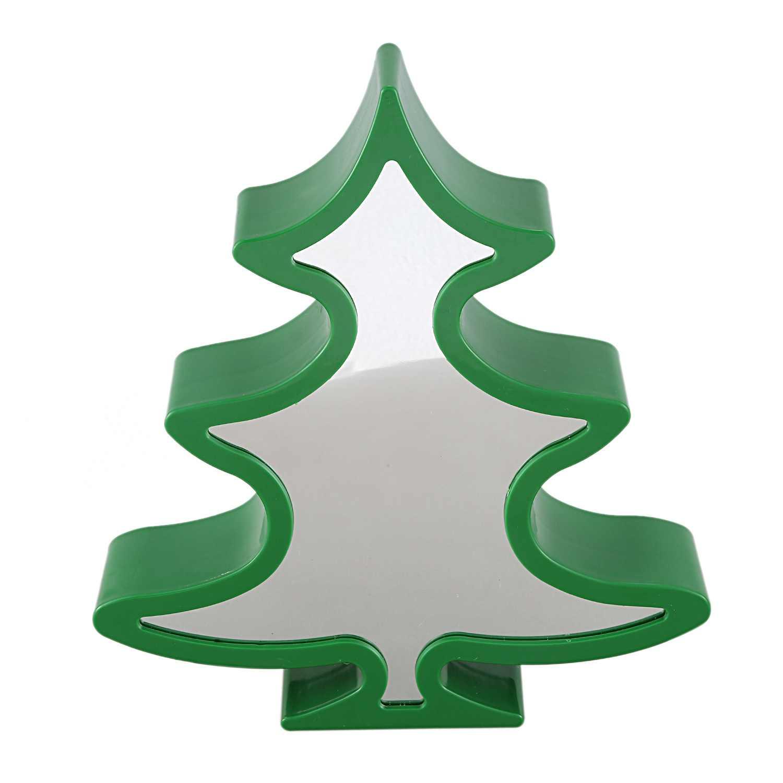 Ночной светильник на рождественскую елку 3D иллюзия Светодиодная лампа туннельный светильник бесконечное зеркало Ночной светильник Настольная лампа домашний декор Детская игрушка подарок