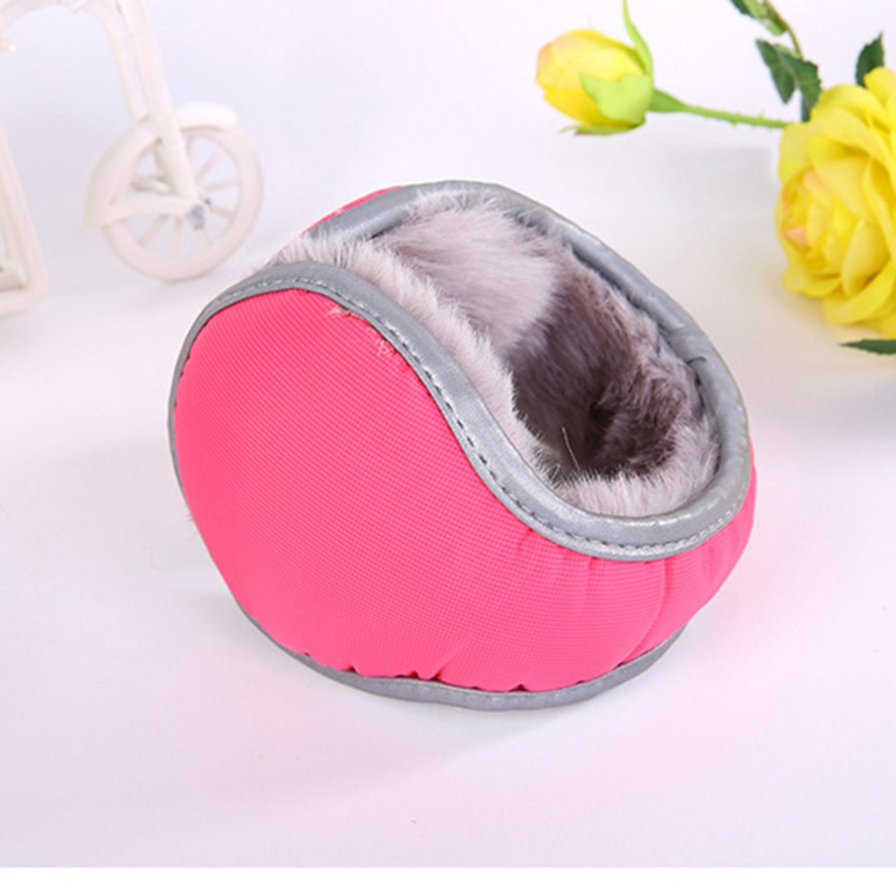 Winter Protection Plush Earmuff Fleece Adult Thickening Keep Warm Super Soft Plush U Shape Protective Earmuff