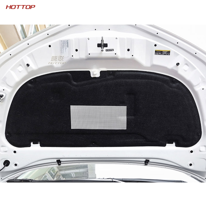 Anti-noise Sound Insulation Cotton Heat Closed Cell Foam For Toyota Corolla 2019 2020 Aluminium Foil Engine Cover